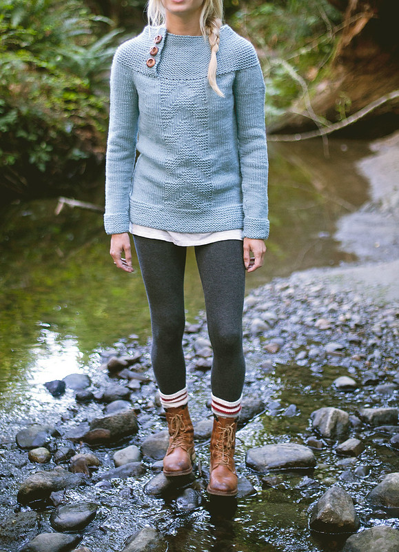 antrorose pullover :: JOURNEY