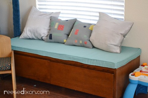 Upholstered Bench Cushion Tutorial