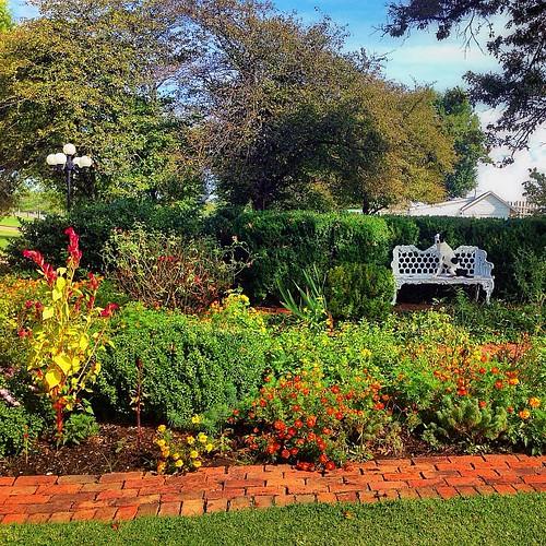 Pretty little #restarea garden in #Kentucky #findkate