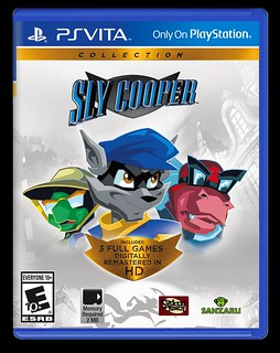 Sly Cooper Collection on PS Vita