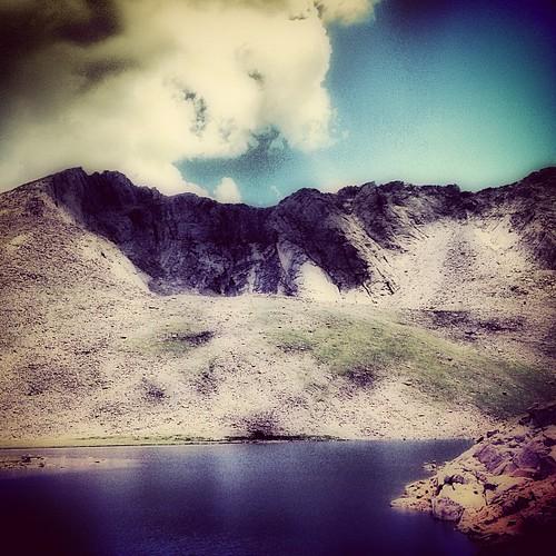Summit Lake on Mt Evans #denver #colorado by @MySoDotCom