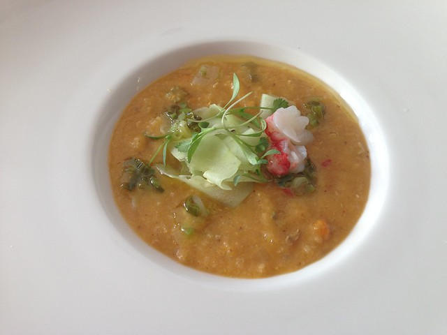 Lobster gazpacho - Roxy's Cafe