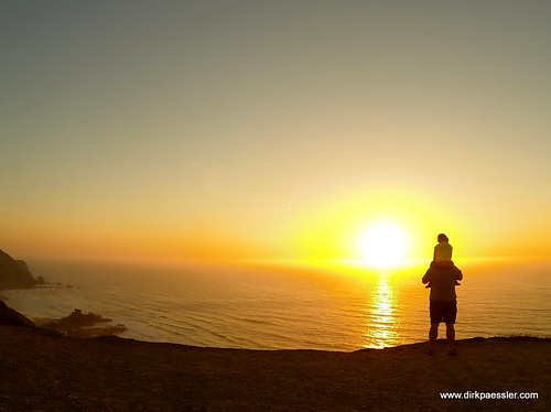 Sunset at Praia Da Cordoama. by Dirk Paessler