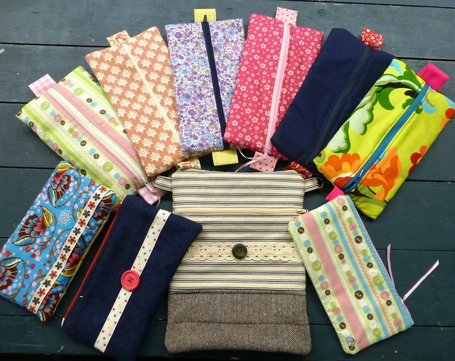 Kids Zippy Pouches workshop Dec13