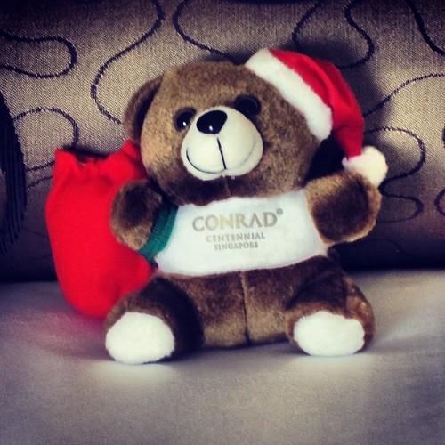 So lovable the Conrad #christmas bear by @MySoDotCom