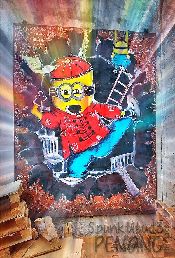 Penang - Street Art in Georgetown