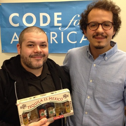 Tagged! I'm going to miss @luis_godoy88, my Dept of State #opengov fellow. Thanks for all of your help! #tequiladiplomacy