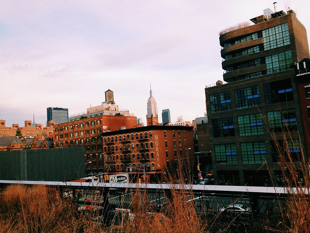 The Empire State Building from the Highline