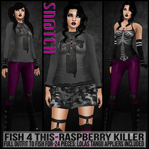 Sn@tch Fish 4 This-Raspberry Killer Vendor Ad SM