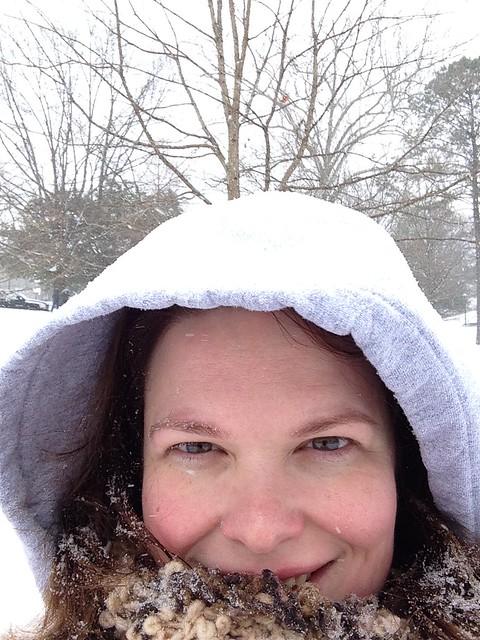 Ginger, Snow Day