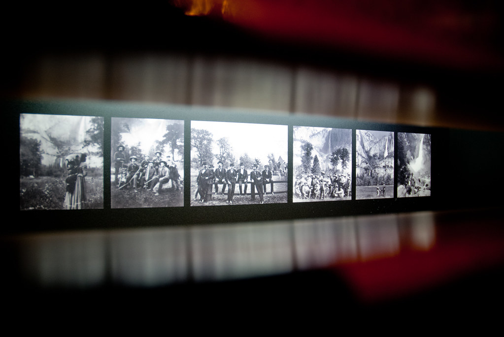 Some old slides in the museum