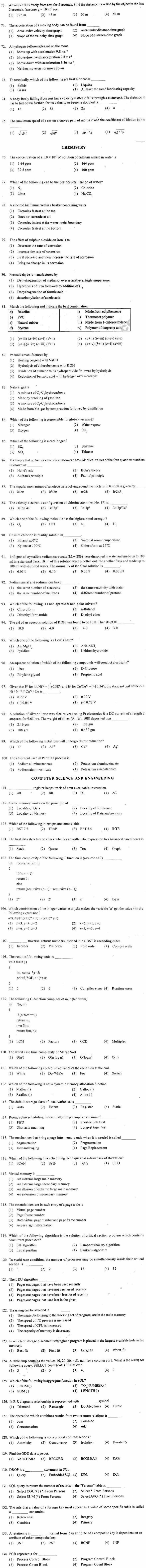 ECET 2013 Question Paper with Answers