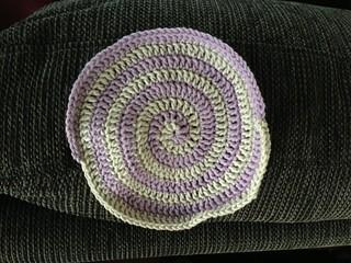 Spiral dishcloth