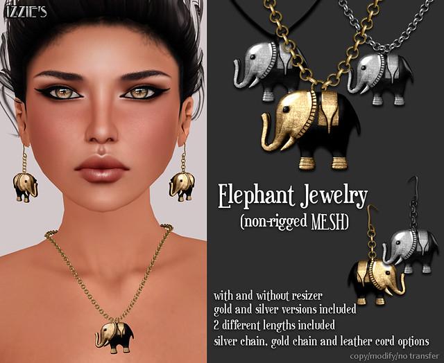 Black Fair (Elephant Jewelry)