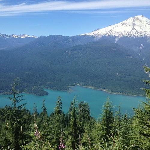 Mt Baker and Baker Lake by @MySoDotCom