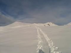 Aufstieg Gipfel Großer Jaufen Pragsertal