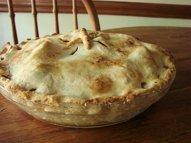 Dad's apple pie