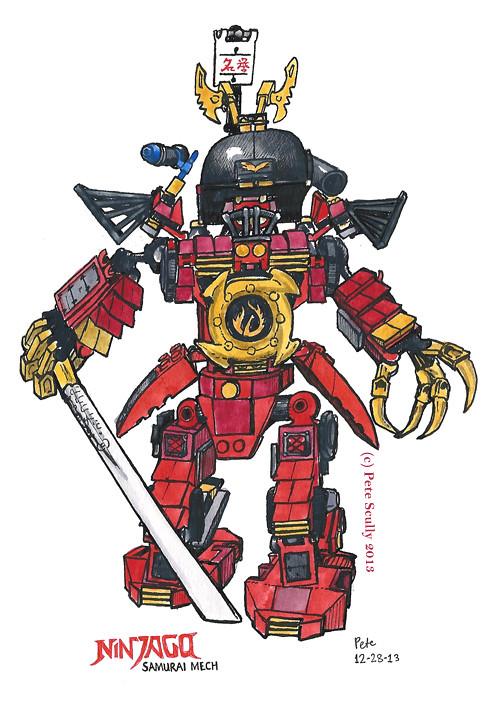 ninjago samurai mech