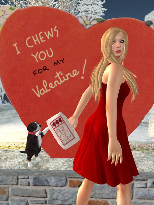 I Chew-chew-chews You!