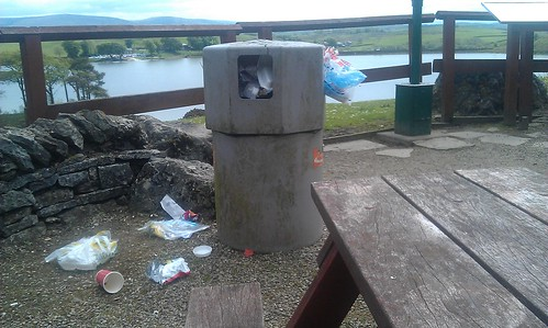 Killington Lake Services picnic area