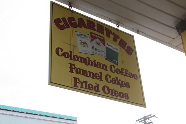 Fried Oreos & Cigarettes