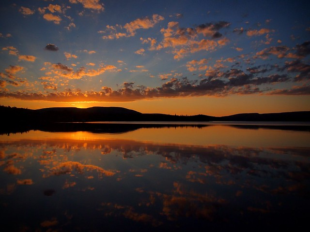 Bras D'or Lake Sunset