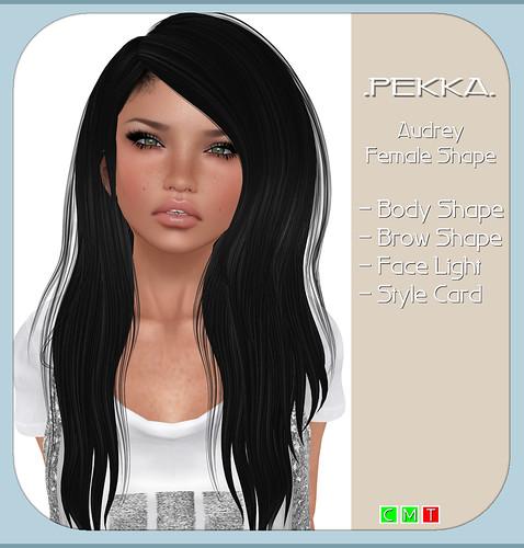 pekka audrey female shape