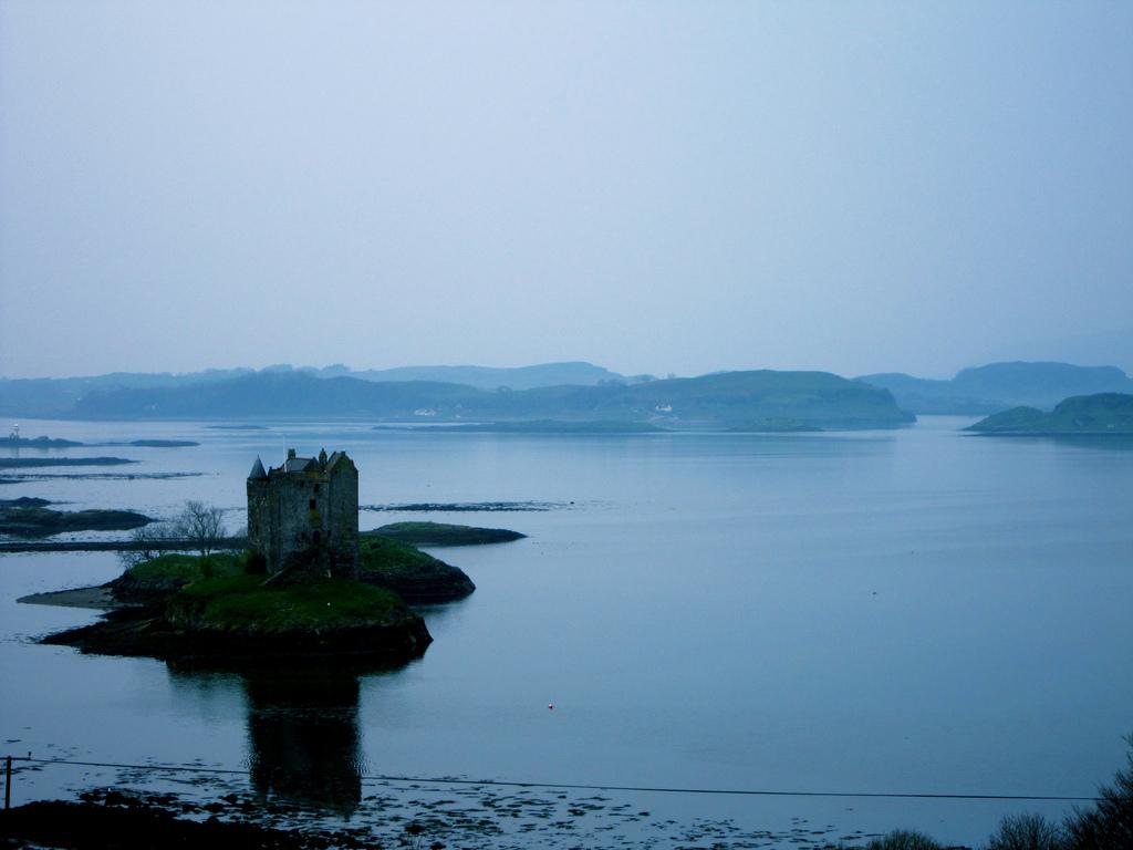 5. Castillo escocés en las Highlands. Autor, Ben Hanbury