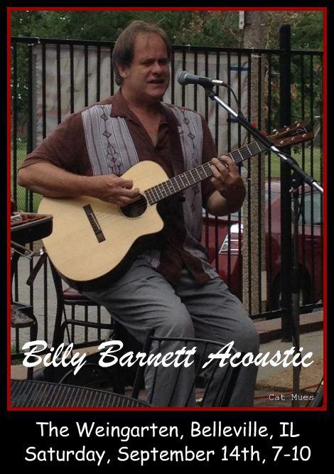 Billy Barnett Acoustic 9-14-13