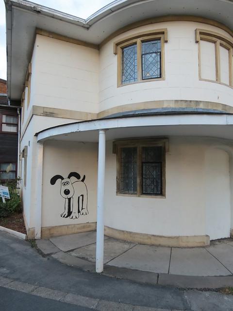 Graffiti Gromit