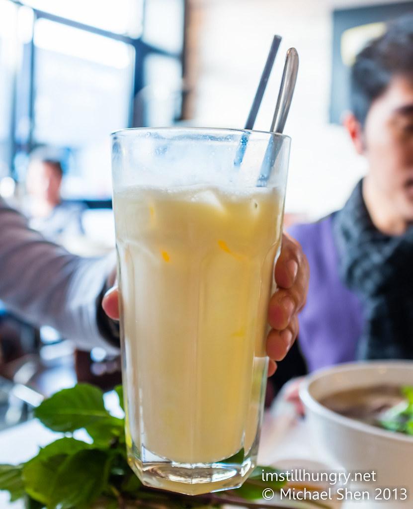 Pho Chu The egg soda