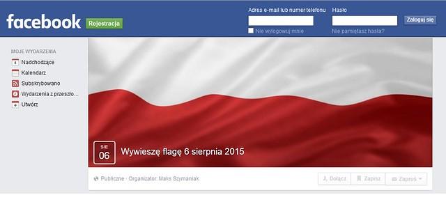 Wywieszę flagę 6 sierpnia