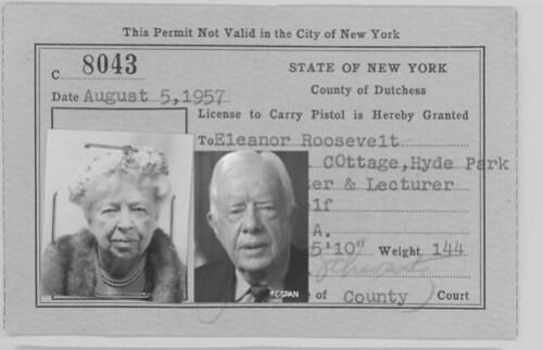 Jimmy Carter Reincarnation of Eleanor-Roosevelt