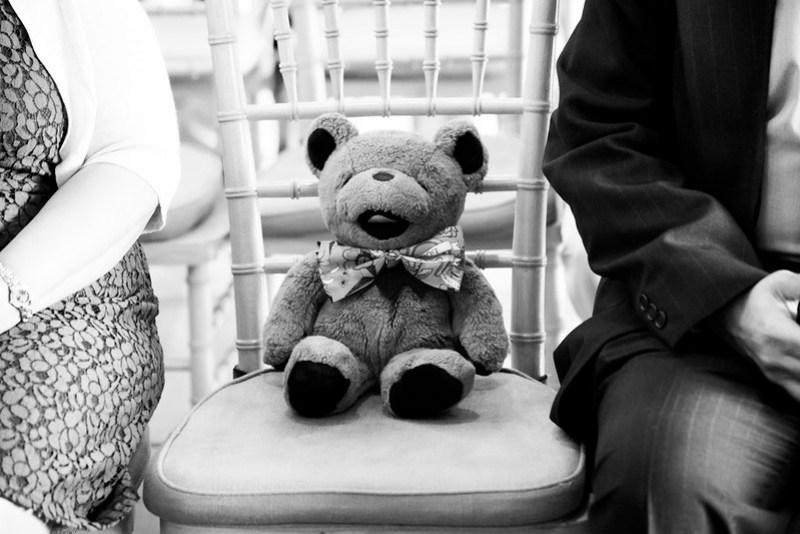 Bear had a front row seat