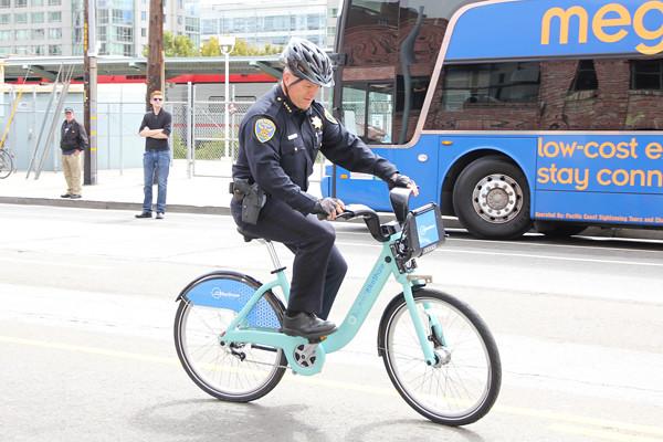Police chief Greg Suhr