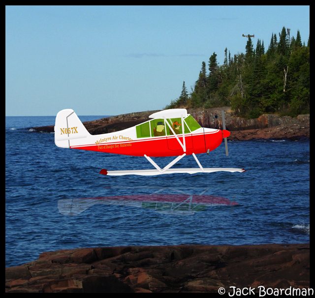 Sarah and Chris forced landing