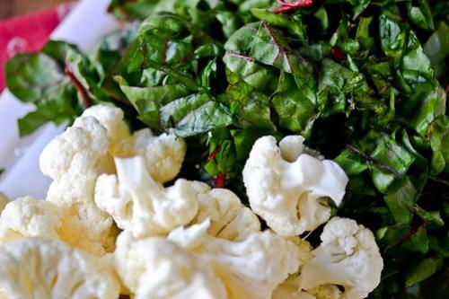 Cauliflower, Onion and Greens Risotto-2