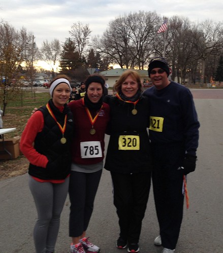 Thanksgiving 5K finishers
