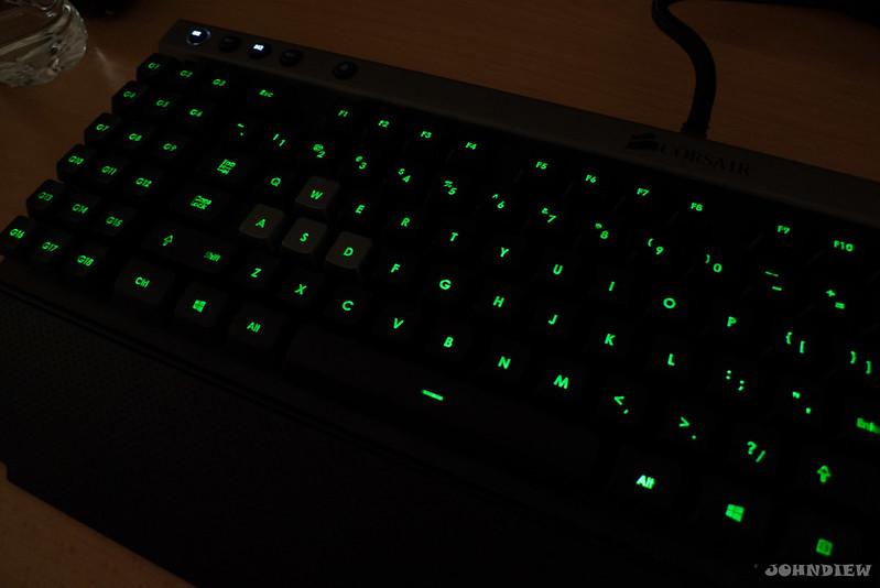 Corsair Raptor K30 and K50 Gaming Keyboards 45
