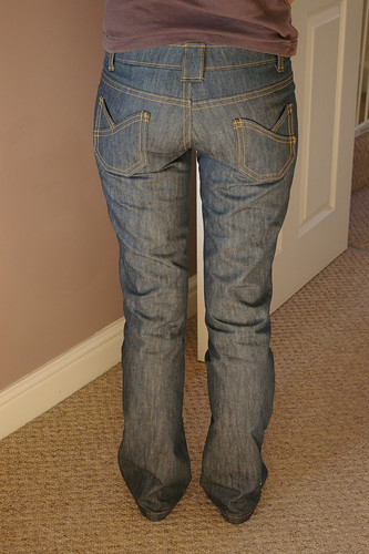 Anita Jeans - back