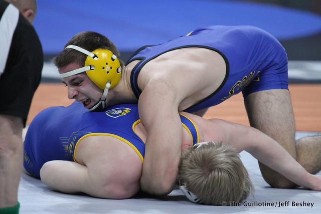 182 - Trey Rogers (Hastings) over Nolan Schmitz (St. Michael-Albertville) TF 23-8