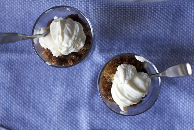 espresso granita + whipped cream