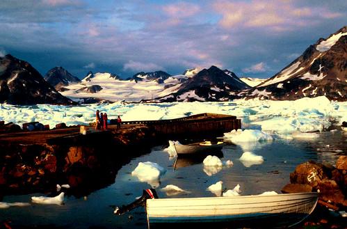Kulusuk Greenland, August 1982