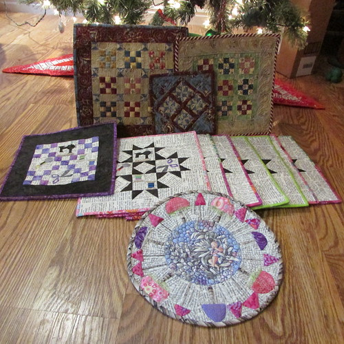 A few Christmas goodies! by ruthiequilts