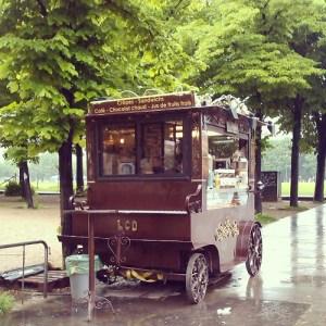 Petit crepe stand #Paris