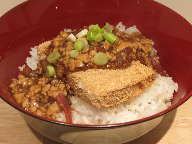 Cooking: Vegetarian Katsudon