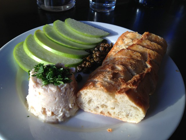Smoked trout rillette - Yield Wine Bar