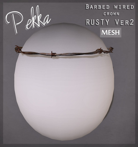pekka barbed wired crown rusty ver2