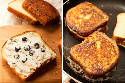 Blueberry Cheesecake Stuffed French Toast