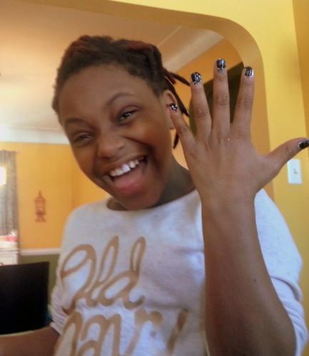 104/365 - Brianna's Nails
